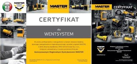 Nagrzewnica olejowa Master B 35 CED + zestaw kół