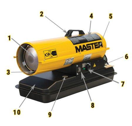 Nagrzewnica olejowa Master B 65 CEL