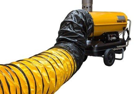 Nagrzewnica olejowa Master BV 110 E + przewody giętkie (nylon) 4515.367 + zestaw podłączeniowy